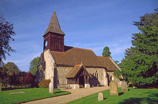 St Andrew's Church, Little Berkhamsted, Hertfordshire
