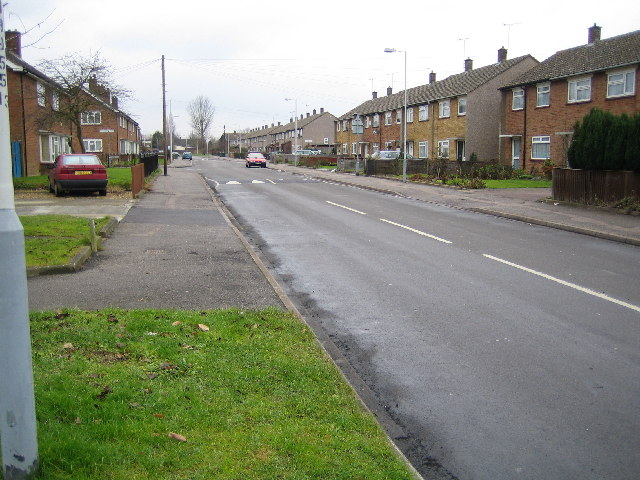Luton: Hereford Road, Lewsey Farm