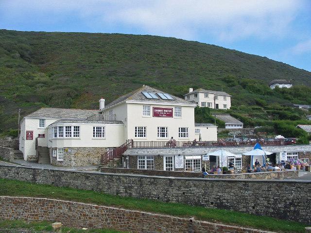 Coombe Barton Inn Crackington Haven Cornwall