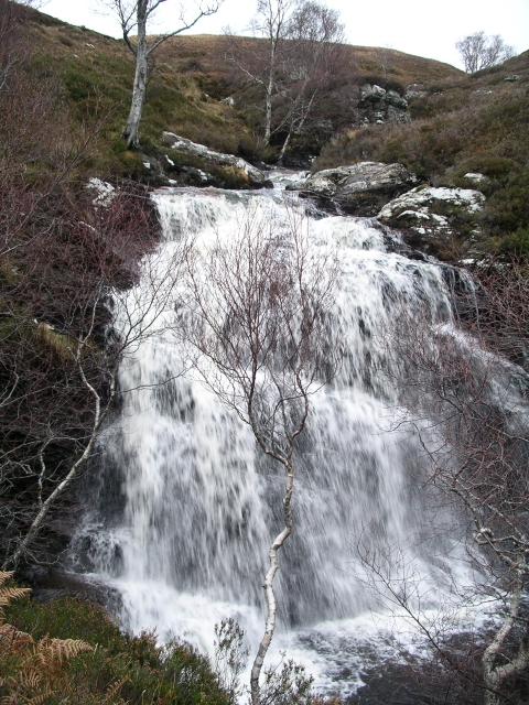 Waterfall, Allt an Duibhe