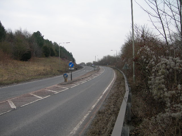 A36 Start of the Alderbury By-Pass