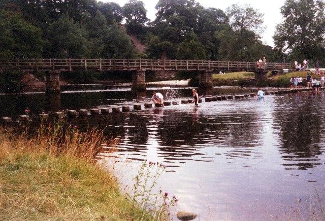 Bolton Abbey Stepping Stones & Bridge