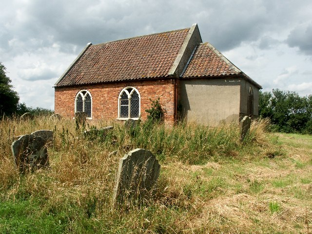 The church of All Saints, Wilksby