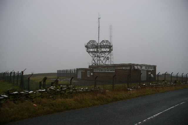 Wireless Masts on Procter Height Hill