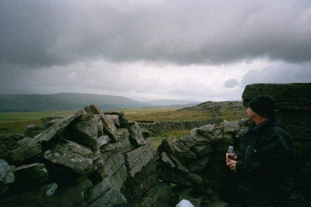 Shelter Conistone Moor