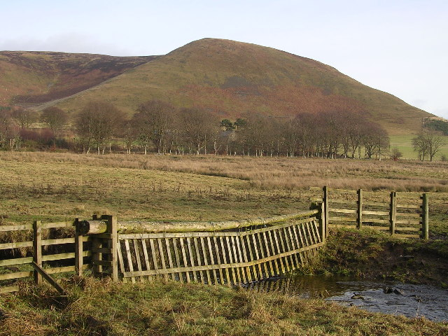 Broughton Burn and Ratchill Hill