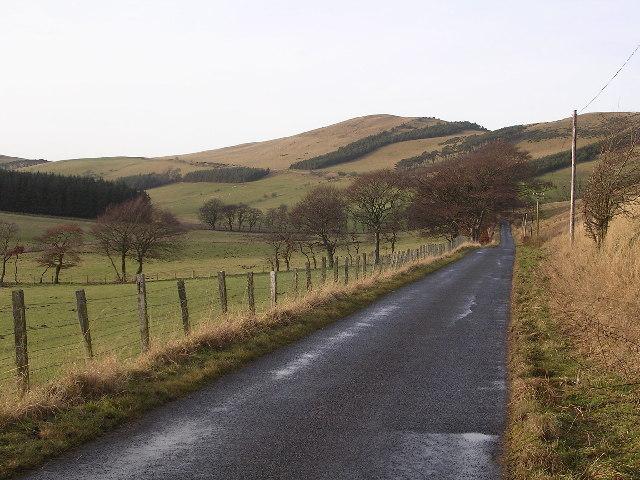 Road near Gosland