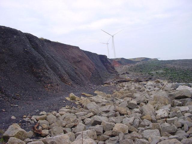 The Black Cliffs of Workington
