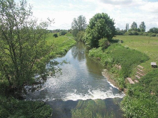 River Bain, Haltham