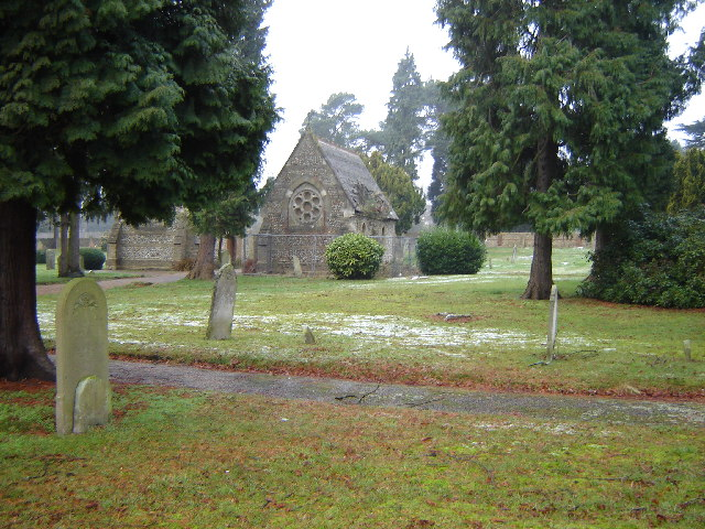 Old Cemetery and Chapel, Upper Hale