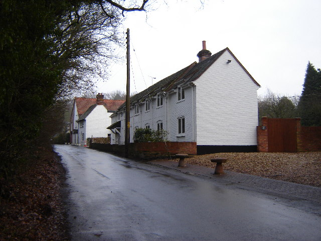 Cottages on Heath Lane, Warren Corner
