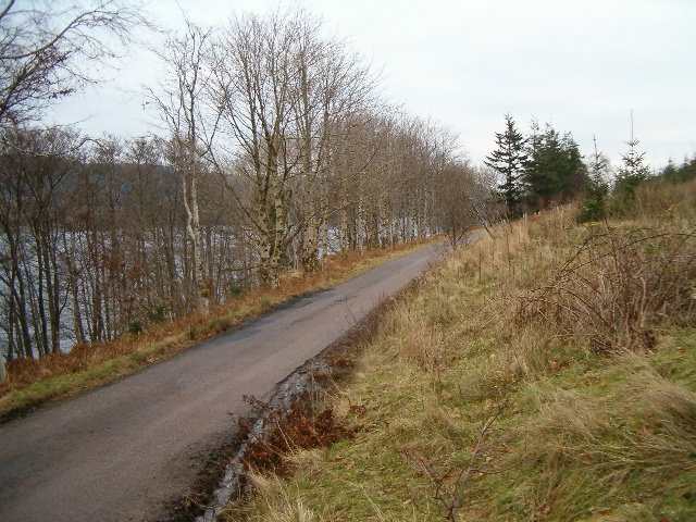 The B840 near Finchairn