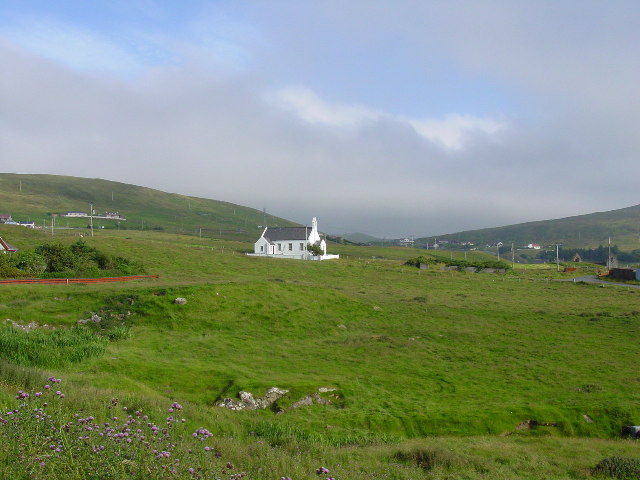 The church at Voe