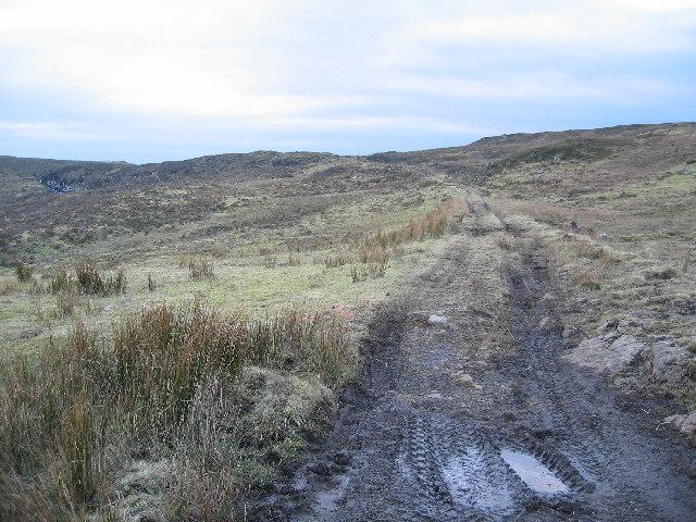 Track to Loch Niarsco