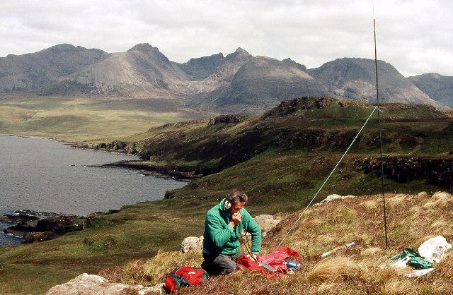 Portable radio operation from NG 31