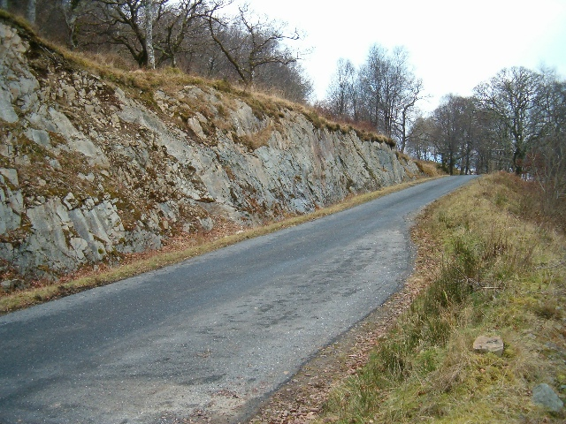 Road improvements on the B840