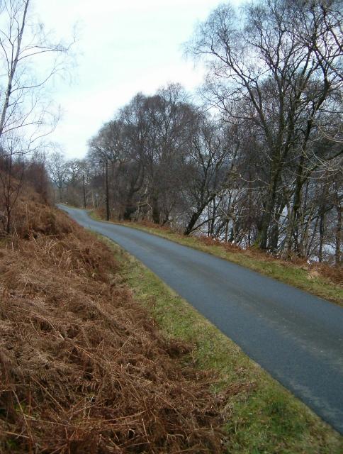 B840 alongside Loch Awe