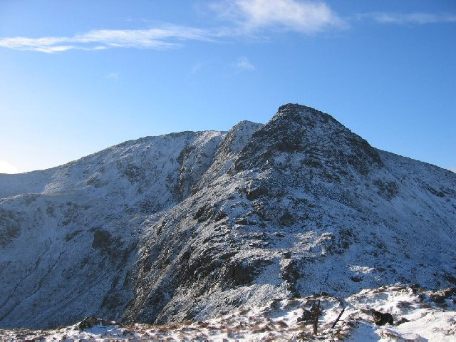 Stuc a Chroin northern ridge