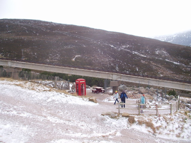 Telephone Box on Cairngorm