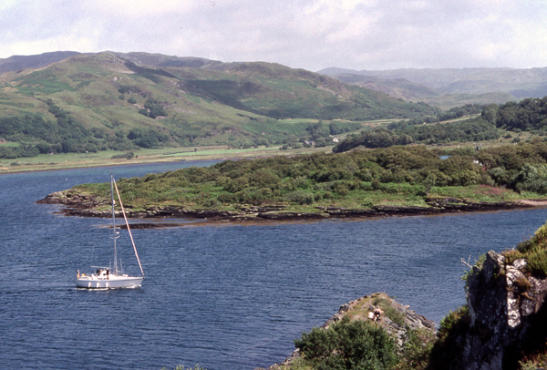 Approaching Craobh Haven
