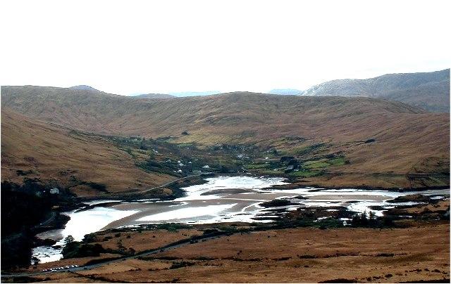 Erriff River Estuary, Killary Harbour