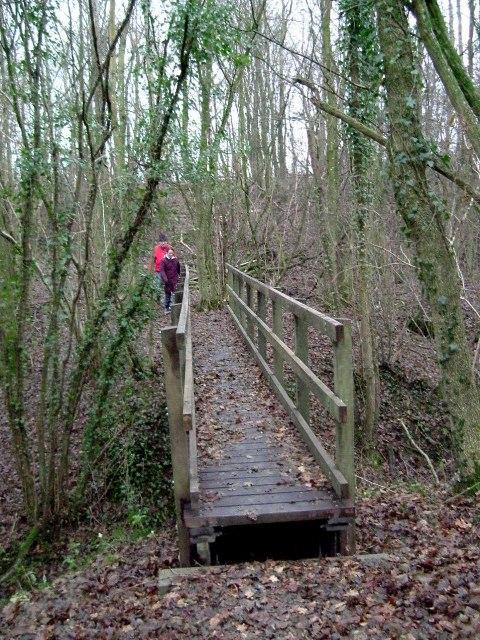 Footbridge Near Sortloes Farm