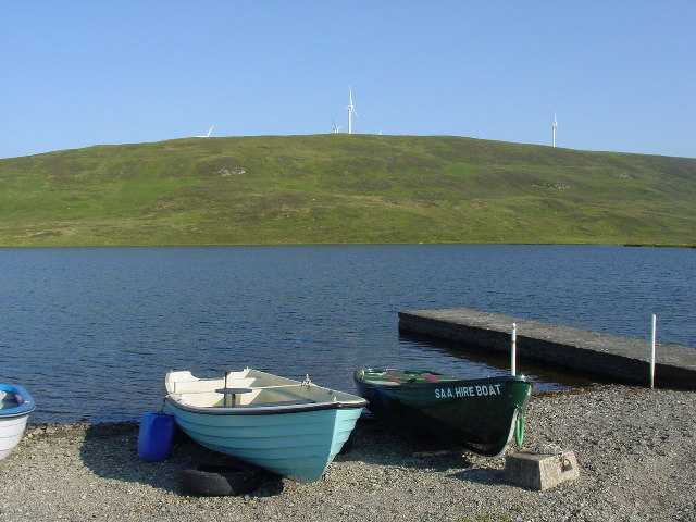 Boats by the Loch of Tingwall