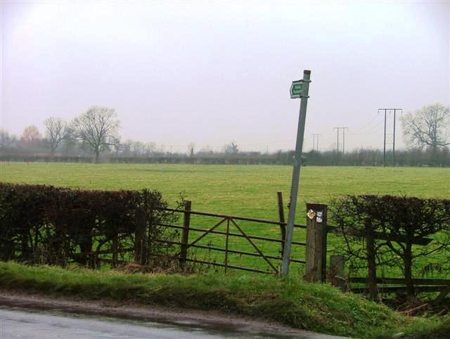 Public Footpath, Back Lane, Willoughby