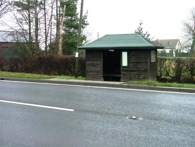 Bus Shelter, Hickling Pastures
