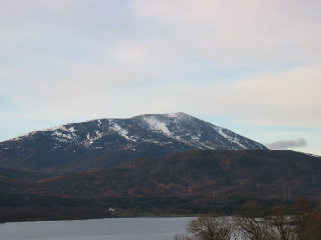Schiehallion over Loch Tummel