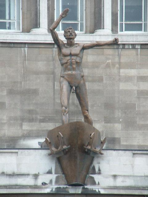 Lewis Statue