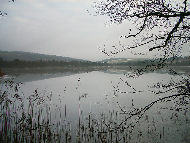 Loch of Craiglush in winter