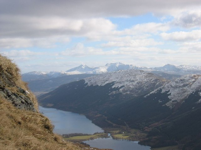 Looking over Loch Voil to Ben Vorlich