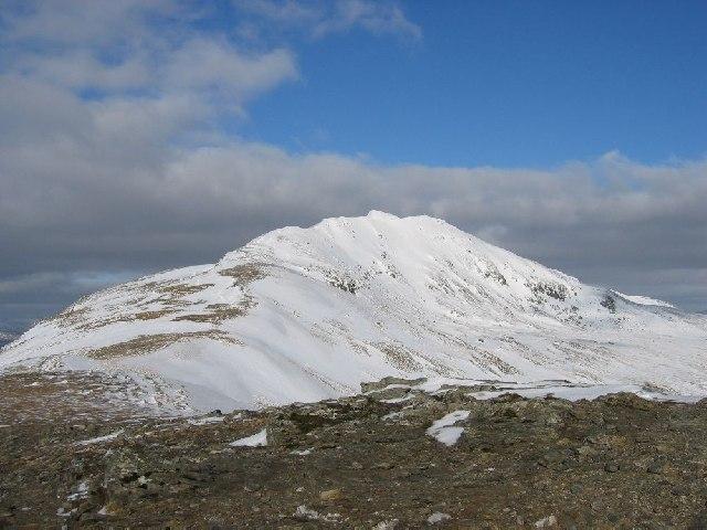 Southern ridge of Stob Binnein
