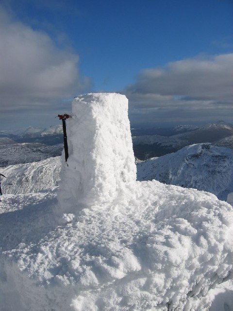 Winter on Ben More