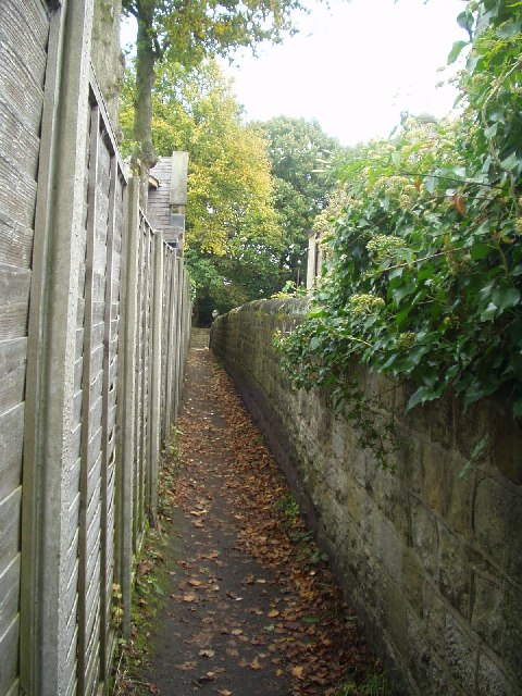Path off Outwood Lane, Horsforth, Leeds