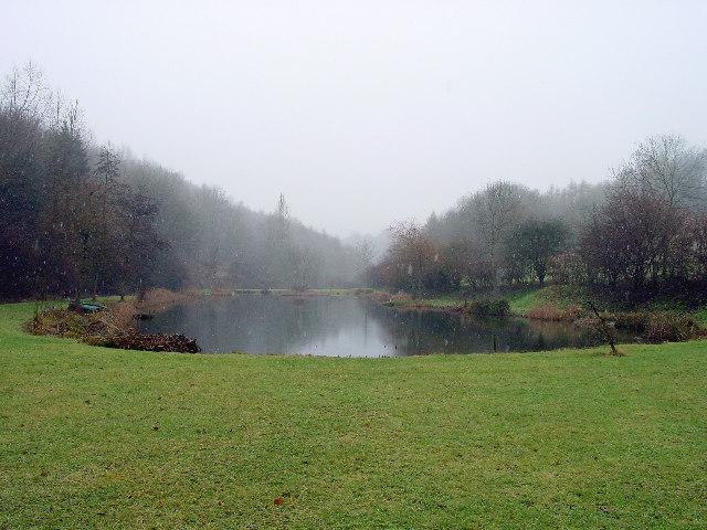 Pond on Edgeworth Mill Farm
