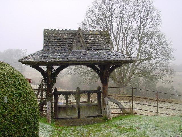 Lych Gate at Edgeworth Church