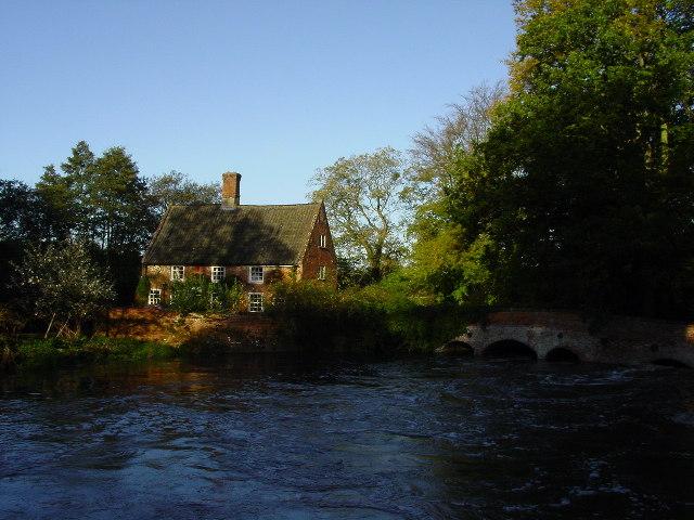 The River Wensum at Lyng