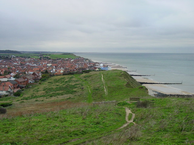 On Beeston Tump looking W to Sheringham