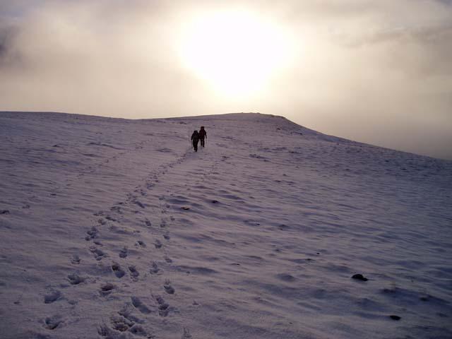 West ridge of Beinn Udlaidh