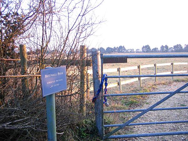 Bestwall Park near Wareham, Dorset