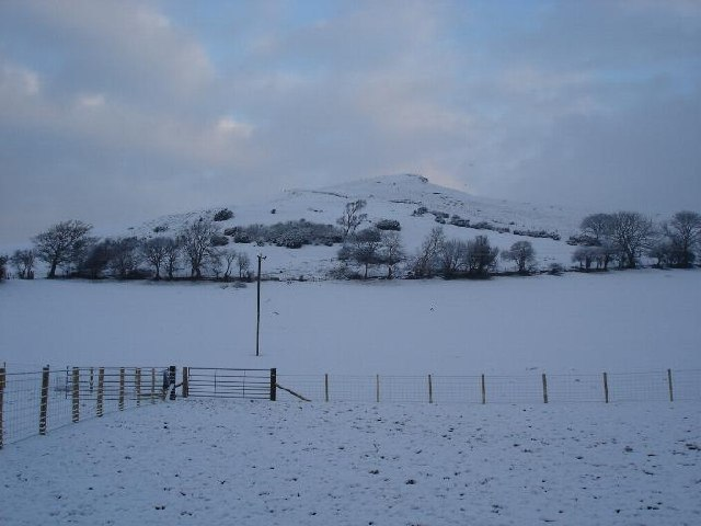Gyrn Hillock in January