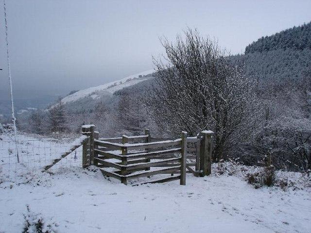 Bwlch Penbarras gates