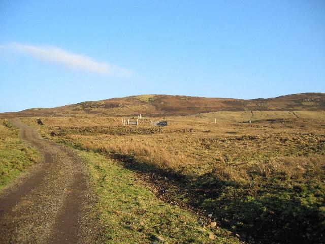 Track near Beinn Ach nam Bard