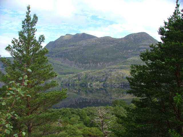 Slioch from Across Loch Maree