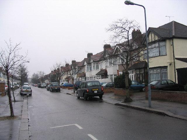 Redbridge residential street