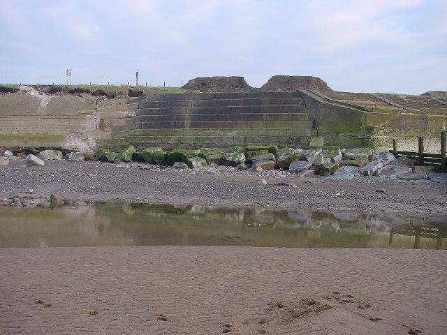 Damaged Sea Defences Dubmill