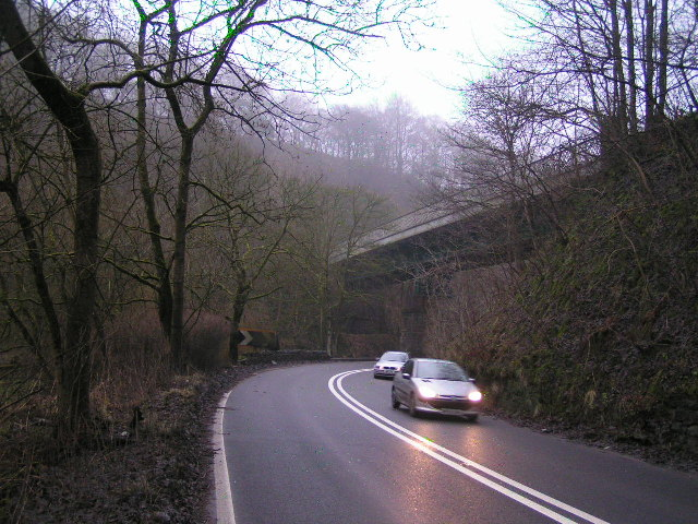 Railway bridge, Ashwood Dale