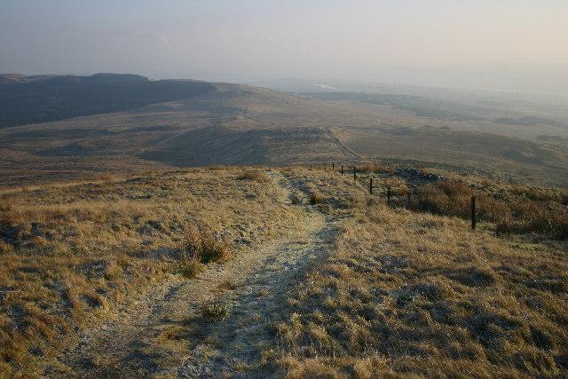 East slopes of Tomtain